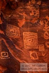 Petroglyphs - V bar V Heritage Site - 09VbarV0076a