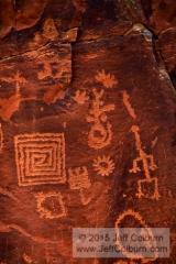 Petroglyphs - V bar V Heritage Site - 09VbarV0080a