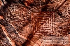 Petroglyphs - V bar V Heritage Site - 09VbarV0304a