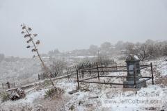 Hogback Cemetery in the Winter - CemeteryHogback0368