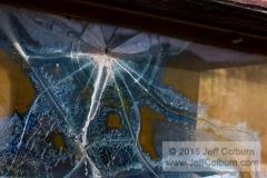 Broken Car Windshield - GOLDKING0125