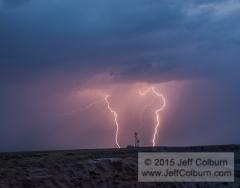 Lightning, Little Painted Desert, Winslow-Lightning0169