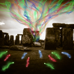 Fairies of Stonehenge -<br/> 13 x 19 inches<br/> Price: $327.00