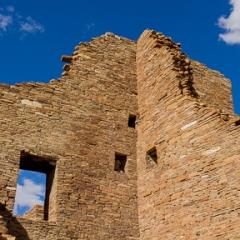 Chaco Canyon Pueblo,<br/>New Mexico
