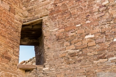 Chaco Canyon, Pueblo Bonito, Window is an Astronomical Marker - ChacoCanyonPueblo-0252