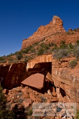 Devil's Kitchen Sink Hole - Sedona - DEVILSKITCHEN0093