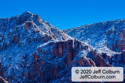 Winter in the Red Rocks of Sedona, Arizona - SWNTR0634