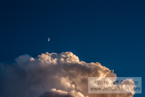 Moon and Clouds - Cloud0146