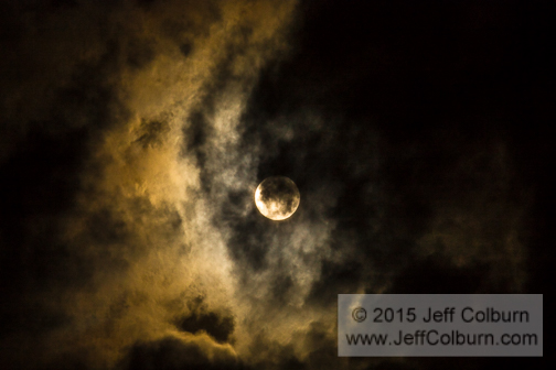 Moon and Clouds - Moon0068