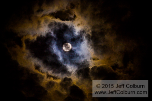 Moon and Clouds - Moon0080