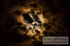 Moon and Clouds - Moon0083