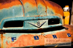 Rusty Old Ford